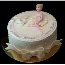 """Детский торт """"Будущая балерина"""""""