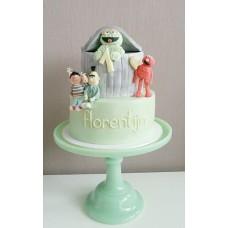 """Детский торт """"Веселая улица Сезам"""""""