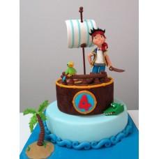 """Детский торт """"Джек и пираты"""""""