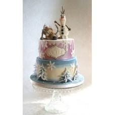 """Детский торт """"Привет от Олафа"""""""