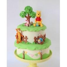 """Детский торт """"Винни Пух и мед"""""""