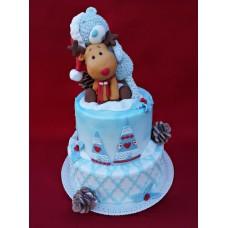 """Торт на день влюбленных """"Ральф и Тедди"""""""