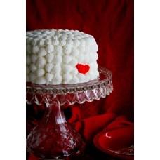 """Торт на День Святого Валентина """"Яркое сердечко"""""""