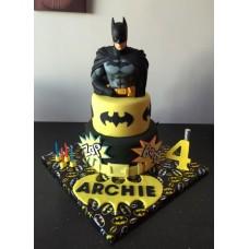 "Детский торт ""Крутой бэтмен"""
