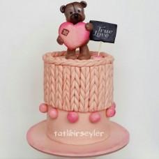 """Торт на 14 февраля """"Истинная любовь"""""""