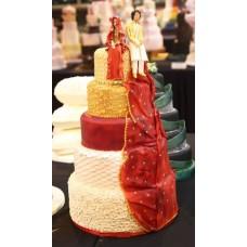 """Свадебный торт """"Индийская свадьба"""""""