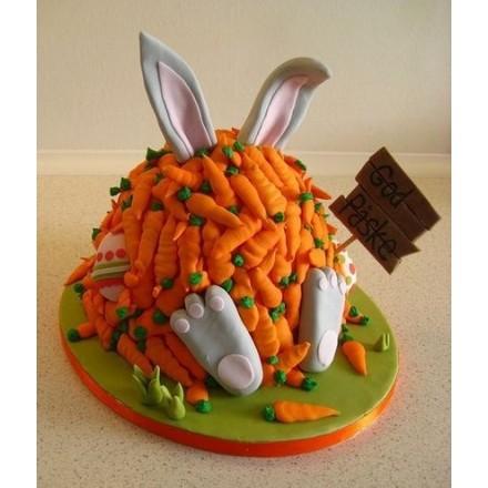 """Торт """"Счастье кролика"""""""