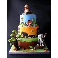 """Детский торт """"Акуна Матата. Тимон и Пумба"""""""