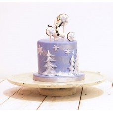 """Детский торт """"Веселый Олаф"""""""