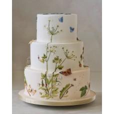 """Свадебный торт """"Летняя пора"""""""