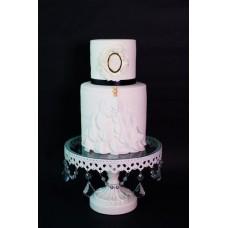 """Свадебный торт """"Семейная брошь"""""""