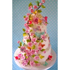 "Свадебный торт ""Вишня"""