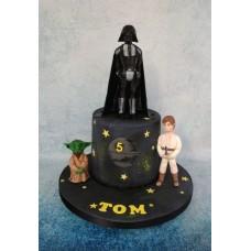 """Детский торт """"Люк Скайуокер"""""""