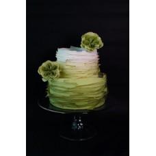 """Свадебный торт """"Фисташковый цвет"""""""