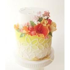"""Торт """"Летние цветочки"""""""