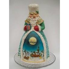 """Новогодний торт на заказ """"Настоящий Дед Мороз"""""""