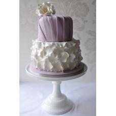"""Торт """"Цветок на вуали"""""""