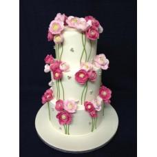 """Торт на 8 марта """"Множество цветов"""""""