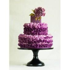 """Свадебный торт """"Сочный пион"""""""