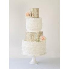 """Свадебный торт """"Свадебное золото"""""""