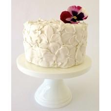 """Свадебный торт """"Множество анютиных глазок"""""""