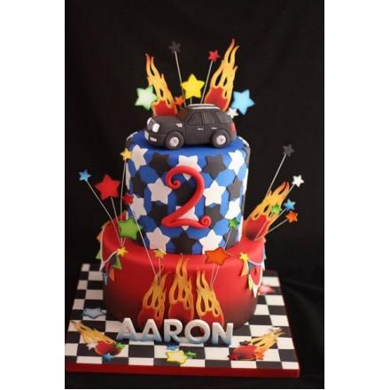 """Детский торт """"Крутая машина"""""""