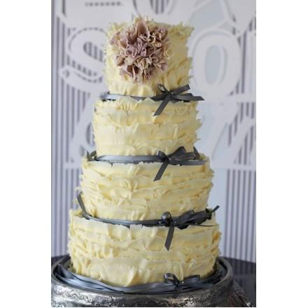 "Свадебный торт ""Белый шоколад"""