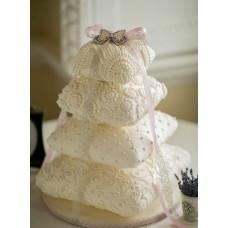 """Свадебный торт """"Царские подушки"""""""