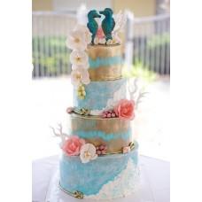 """Свадебный торт """"Морской конек"""""""