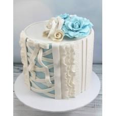 "Торт ""Белый корсет"""