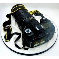 """Торт для фотографа """"Черный фотоаппарат"""""""