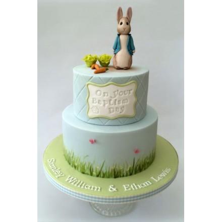 """Торт на Пасху """"Кроля с морковкой"""""""