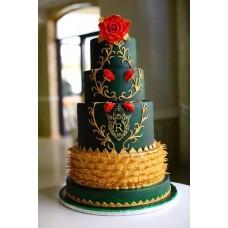 """Свадебный торт """"Изумруд"""""""