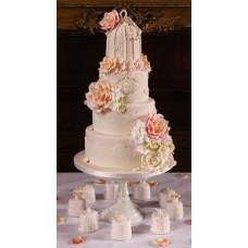 """Свадебный торт """"Королевский жемчуг"""""""