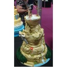 """Свадебный торт """"На вершину любви!"""""""