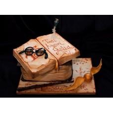 """Детский торт """"Книга Гарри Поттера"""""""