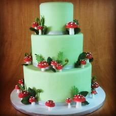 "Свадебный торт ""Мухоморы"""