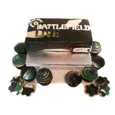 "Детский торт ""Battlefield Live"""