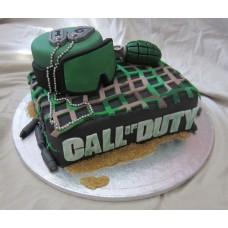 """Детский торт """"Call of duty. Маска"""""""
