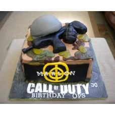 "Детский торт ""Call of duty. Автомат"""