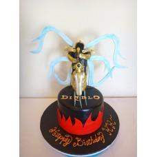 "Детский торт ""Diablo №1"""