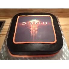 "Детский торт ""Diablo фон"""