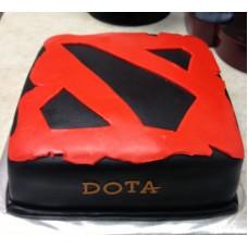 """Детский торт """"Dota символ"""""""