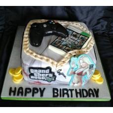 """Детский торт """"GTA джостик"""""""