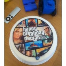 "Детский торт ""GTA. Картинки"""