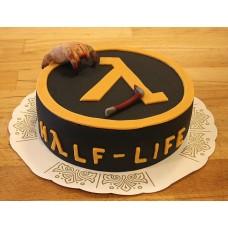 """Детский торт """"HALF LIFE Игра"""""""