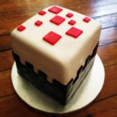 """Детский торт """"Minecraft деталь"""""""