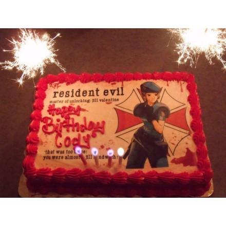 "Детский торт ""Resident evil"""