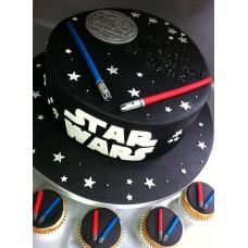 "Детский торт ""Star Wars меч"""