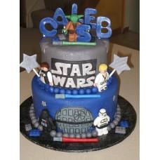 """Детский торт """"Star Wars все в сборе"""""""